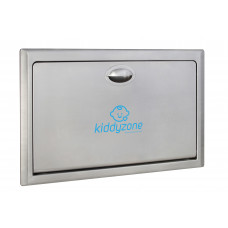 Kiddyzone Recessed Stainless Steel Baby Changing Station