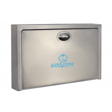 Kiddyzone Stainless Steel Baby Changing Station