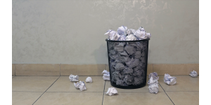 The Reality of Paper Towels - time for a disruptive technology?