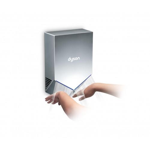 dyson airblade v hand dryer white hu02. Black Bedroom Furniture Sets. Home Design Ideas